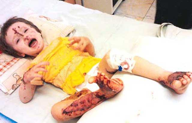 دخترک سه ساله طاهره ، قربانی دیگر ارتباط نامشروع جعفر با مونا