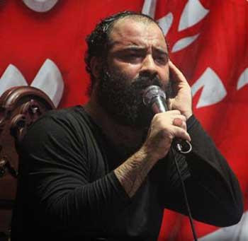 عبدالرضا هلالی یکی از نوچه های دهان گشاد و عربده کش آخوند مشهدی