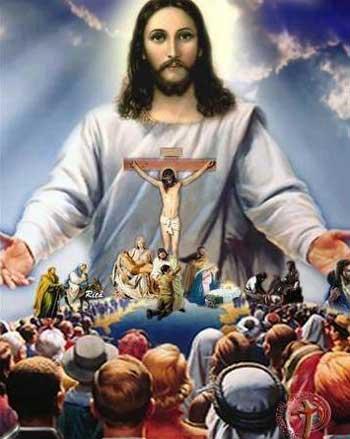 عیسی مسیح خدای عشق و محبت، کسی که قرار است به فریاد بینوایان و درماندگان جهان برسد ولی گویا از وضعیت جهان و مناطق محروم و بدبختی ها چندان خبری ندارد.