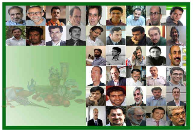 فرتور 45 نفر از زندانیان عقیدتی - سیاسی را نشان می دهد که نوروز امسال را به جرم آزادی خواهی، پشت میله های سلول های سردشان خواهند گذراند.