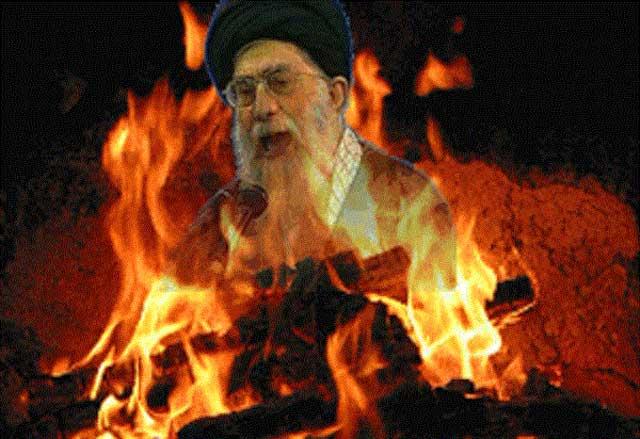 این چهارشنبه سوری واقعی ایرانی است. آتشی از جان و دل ملت دربند بلند می شود و خرمن جنایت کاران ضد ایرانی تازی نژاد را به آتش می کشد.
