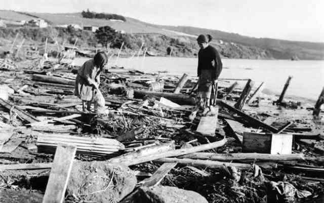 زمین لرزه سال 1960 در شیلی با قدرت 9.5 ریشتر، بزرگ ترین زلزله ثبت شده در دنیا است.