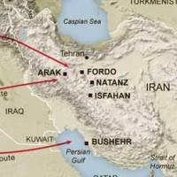 این نقشه راههای حمله نظامی اسرائیل به ایران را نشان می دهد. از آنجا که ممکن است به دلیل مسافت زیاد میان اسرائیل و ایران این نقشه عملی نباشد، با پیوند و همکاری میان ترکیه، اسرائیل، اران (آذربایجان دروغین)، و کشورهای عربی کناره خلیج پارس و حتی عربستان، می توانند پایگاههای نزدیک تری به ایران انتخاب کنند . دلیل مهم آنست که ایران با وجود آخوندهای جنایتکار در جهان دوست و هم پیمانی ندارد.