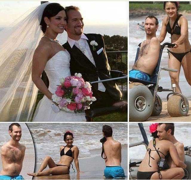 دیدگاه انسان متفاوت است. زنی می تواند به راحتی با مرد بدون دست، و زن دیگری با مرد بدون پا ازدواج کند.
