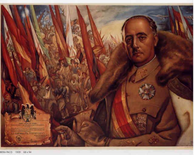 ژنرال فرانکو یک حکومت دیکتاتوری را بر اسپانیا حاکم کرد!