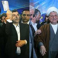 هاشمی رفسنجانی خود را کاندید ریاست جمهوری می کند تا یا با خامنه ای مبارزه کرده، او را از بالای منبر پایین آورد، و یا آن که با شرکت همدیگر به چپاول و غارتگری پردازند.