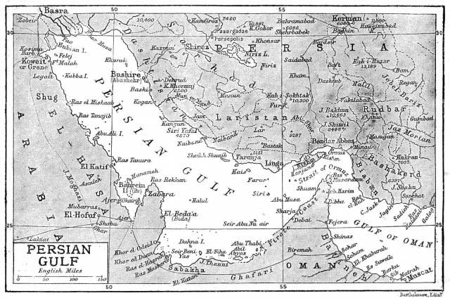 این نقشه کشور عزیزمان ایران، و خلیج ابدی فارس است که در سال ۱۹۰۶ از سوی سازمان های بین المللی شناخته شده است. به کوری چشم تازیان و تازی صفتان، نام زیبای خلیج فارس، برای همیشه بر این آب های پهناور باقی خواهد ماند.