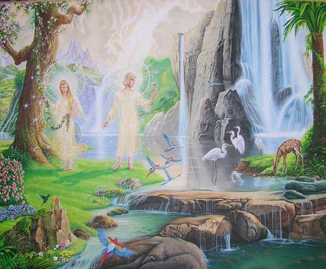 دین اسلام برای ما فلسفه بافی می کند که آدم و حوا به دلیل نافرمانی از الله از بهشت رانده شدند. این بهشتی که آدم و حوا از آن رانده شدند، در سرتاست نقاط گیتی مانند آن و حتی بهتر از آن دیده می شود. از این روی، ترفند دین اسلام روی انسان ها در دنیای کنونی دیگر اثری نخواهد داشت.