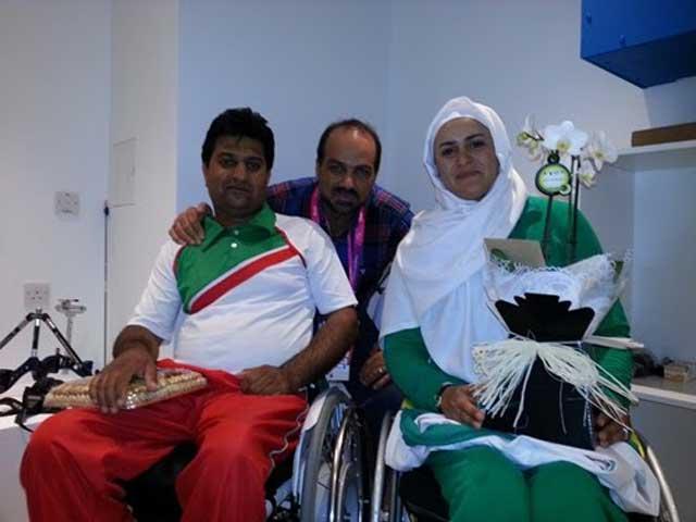 نامزدی زهرا نعمتی و شهام رهایی پور، دو قهرمان، دو معلول، دو امید دهنده به نسل جوان، و مایه افتخار و مباهات هر ایرانی نیک اندیش.