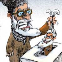 رأی دادن مردم ایران، آزادی از قفس و زندان آخوندی نیست بلکه انتقال از یک قفس، به قفس دیگر، و از یک زندان، به زندان دیگر است.ملت ایران چند روز پیش شانس و موقعیت آن را داشت که با شرکت نکردن خود در افتضاحات، بساط آخوند را برای همیشه از ایران برکند، ولی بی خردانه میخ قدرت و زورگویی آنان را محکم تر نمود و برای دهها سال دیگر رهایی از این زنجیر اسارت امکان پذیر نیست.