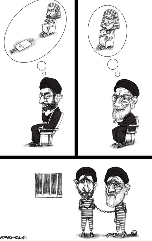 بدون شک و تردیدی، مجتبی خامنه ای که می خواهد ولی فقیه پس از پدرش باشد، از جنایت کارترین آخوندی است که تا کنون در ایران دیده شده است.