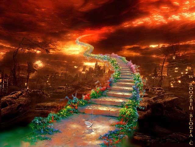 پل صراط پل باریکی است که انسان های خوب از روی آن که از میان آتش جهنم کشیده شده می گذرند و به بهشت می  رسند. بنازم به ترفند آخوند و سیاستمداری دین اسلام که میلیون ها مردم جهان را به سر کار گذاشته و در خرافات خود فرو برده است.