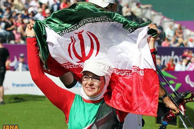 زهرا نعمتی ستاره درخشان عالم ورزش و موجب افتخار هر ایرانی، به ویژه بانوان گرامی