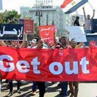 مردم دلاور مصر در نبودن مزدوران و سگ های ولایتی، رژیم خودکامه را به زانو درآوردند