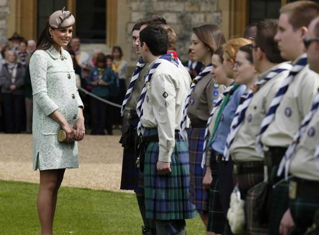 کاترین میدلتون، همسر شاهزاده ویلیام آماده  که آخرین بار در ماه گذشته در ملاء عام دیده شده است.