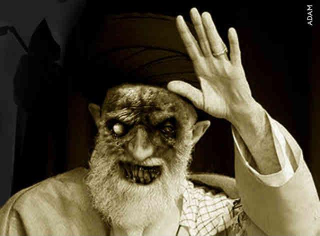 زندانی به وسعت ایران، و زندانبانی به بزرگی آخوند ۵ تومانی. زندان بانی که از مأور جهنم هم نازیباتر و خوارتر است.