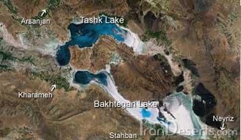 در این نقشه دریاچه ها و آبریزهای معروف درون ایران را نشان می دهد. از برکت رژیم اسلامی، یکی پس از دیگری به دنبال دریاچه ارومیه در حال خشک شدن می بآشند.