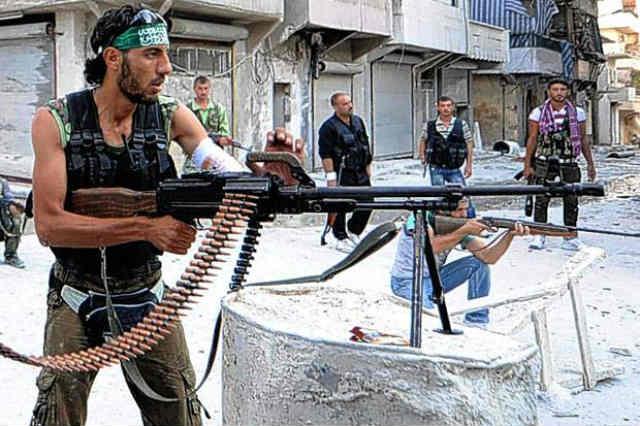 همانطور که می بینید مخالفان بشار اسد را انسان دوستانی روشنفکر و تحصیل کرده تشکیل نمی دهند، گروهی با افکار القاعده ای در حال مبارزه با بشار اسد هستند!  _ سیروس پارسا _