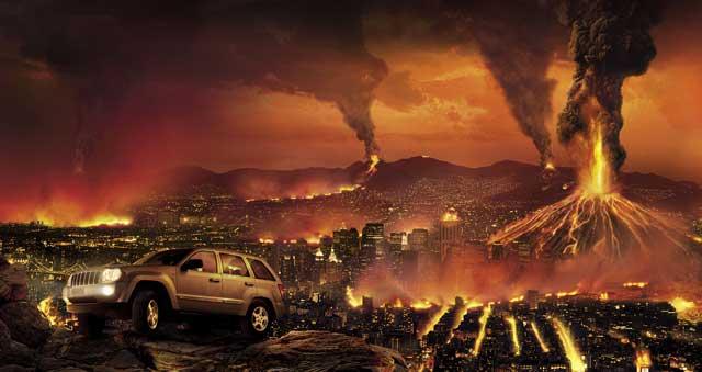 آتش فشان که یک امر طبیعی و مربوط به فعل و انفعال زمین است، را یک پدیده الهی دانسته و شاید آن را دلیل خشم خداوند بدانند.