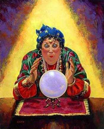 این نقاشی یک زن جادوگر را نشان می دهد. کلاهبردارانی که در کشورمان و در زیر چتر ولایت فقیه خرد و اندیشیدن را از مردم می گیرند و آنان را در خافات و افکار پوچ قرار می دهند.