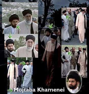 مجتبی خامنه ای، ابر جنایکتار ایران رهبر و فرمانده سربازان گمنام امام زمان است که تا کنون جنایت های بیشماری را به دستور او انجام داده اند.