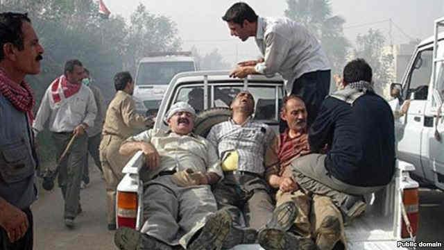 حمله به ایرانیانی که توسط سران مجاهدین در کمپ اشرف اسیر شده اند، محکوم و بر خلاف تمامی اصول انسانی است.