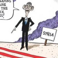 حواستان باشد از خط قرمز اوباما رد نشوید. اگر هم شدید اشکالی ندارد،؛ شتر دیدی، ندیدی. اوباما چشمش نزدیک بین است و دور را نمی بیند.