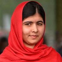 ملاله یوسف زای دختر مبارز قهرمان پاکستانی برنده جایزه ساخارف و نامزد دریافت جایزه نوبل