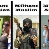 فرتور زنده یاد کریستوفر هیچنز را به عنوان یک خداناباور مبارز، با یک فرد مسلمان فاناتیک و یک زن خردباخته مسیحی مقایسه می کند! سیروس پارسا