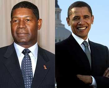 دیوید پالمر که در نّ سیاه پوستی که به ریاست جمهوری رسید بازی کرد و راه را برای انتخابات باراک اوباما باز نمود.