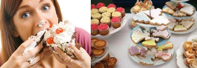 خوردن شیرینی جات تر و خشک بزرگترین راه افزودن شکر به بدن و تولید انواع بیماری ها از جمله گرفتگی رگها و سکته قلبی می باشد.