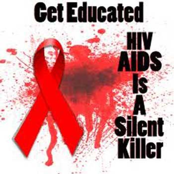 بیماری ایدز، یک بیماری کشنده بی سر و صدا است. باید آموزش دید و از آن اگاه شد تا در دام آن نیفتاد.