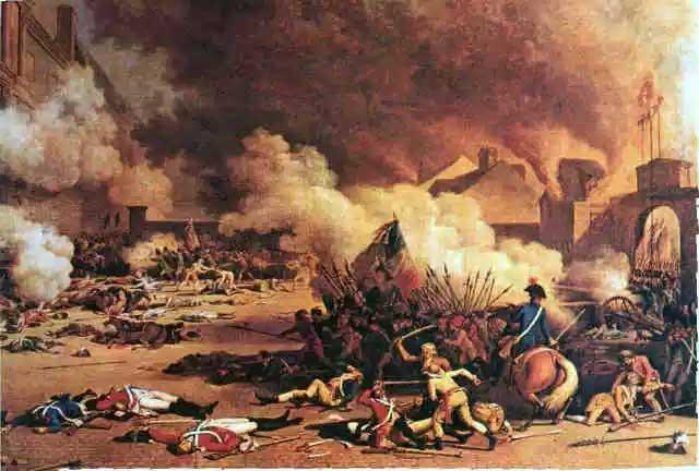 فرتور گوشه از انقلاب بزرگ فرانسه را نشان می دهد؛ انقلابی که به وسیله افکار روشنفکران بزرگ فرانسوی حمایت می شد و در مردم انقلابی فرهنگی – اخلاقی پدید آورده بود و ثمره اش فرانسه پیشرفته و مدرن و آزاد امروز است که مشاهده می کنیم.  _ سیروس پارسا _