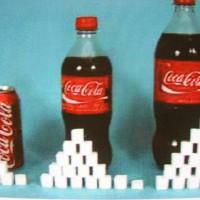 آیا هرگز به فکر افتادیم بانوشیدن یک کوکاکولا چه اندازه شکر به بدن ما افزوده می شود؟
