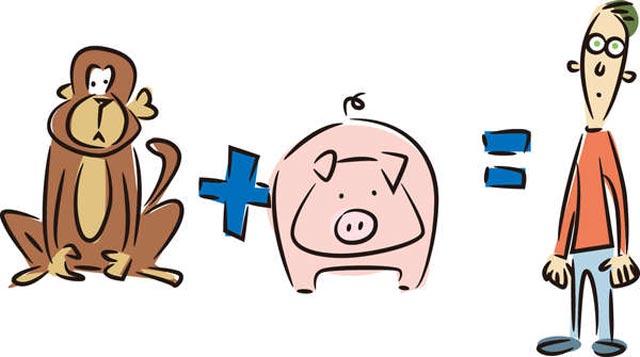 نتیجه پیوند خوک و شامپانزه انسان اولیه است.
