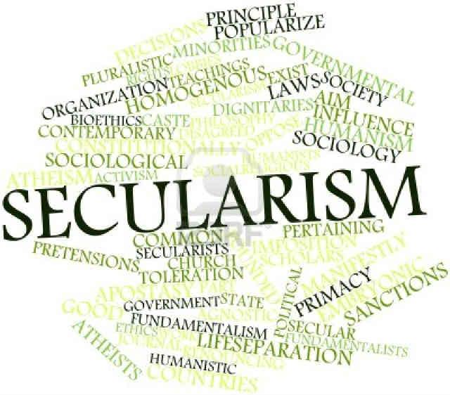 سکولاریسم یک اصل است که دو خواسته و هدف پایه را در بَر می گیرد؛ نخستین برنامه جدایی روشنِ دین و نهاد هایِ مذهبی از حکومت است و دیگری برابری تمامی مردم با هر باورِ دینی، در پیشگاهِ قانون است؛ این بدان معناست که در یک جامعه سکولار، یک فردِ مسلمان با یک فردِ مسیحی، یهودی و یا خدا ناباور در نزدِ قانون برابر بوده و از حقوق یکسانی برخوردار است و هیچ فرقی میان ایشان نیست.  _ سیروس پارسا