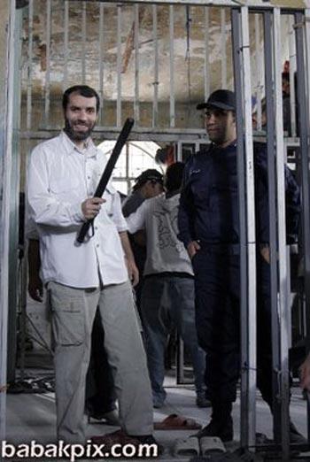 (او کسی است که با قلم کثیف خود بسیار بیشتر از اسلحه مردم ایران را آزار داده است.)