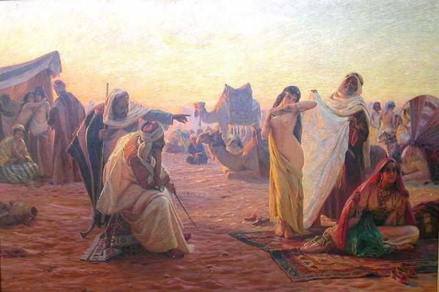 (بلال زنی را از روی جسد شوهر و پدرش گذرانید و به محمد رسانید و محمد همان شب با او ازدواج(؟!) کرد)