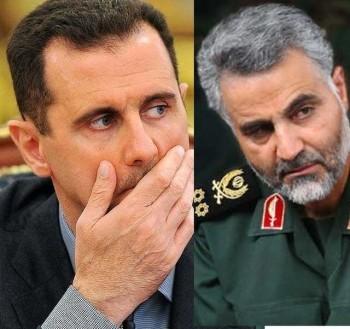 (سپاه برون مرزی  ترور ایران که به سپاه قدس مشهور است در جنگ و جنایت اسد نقش مهم دارد و آبروی مردم ایران را برده است)