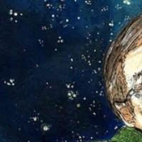 فرتور فیزیکدان و دانشمند نامی دنیا استفان هاوکینگ را نشان میدهد. ایشان یکی از مشهورترین خداناباوران دنیا هستند و گفته اند که بهشت و جهنم وجود ندارد و این داستان ها تنها برای کسانی است که از تاریکی بعد از مرگ می ترسند. بنجامین دیزرائیلی می گوید: آنجا كه علم پایان می یابد، مذهب آغاز میگردد. فرتور فیزیکدان و دانشمند نامی دنیا استفان هاوکینگ را نشان میدهد. ایشان یکی از مشهورترین خداناباوران دنیا هستند و گفته اند که بهشت و جهنم وجود ندارد و این داستان ها تنها برای کسانی است که از تاریکی بعد از مرگ می ترسند. بنجامین دیزرائیلی می گوید: آنجا كه علم پایان می یابد، مذهب آغاز میگردد.