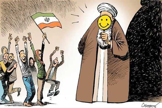 (مردم ایران باید روزی این زباله ی سمی را دفن کنند.حتی اگر لبخند بزند!)