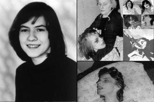 (این دختر بی گناه یک قربانی این خرافات است که در 24 سالگی همزمان دچار صرع و اسکیزوفرنی بود ولی او را با جن گیری درمان کردند و در گذشت)