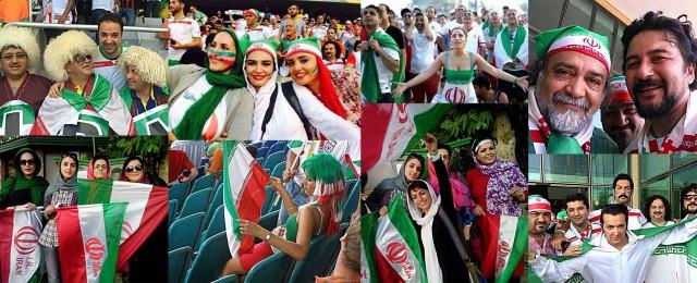 این فرتور به خوبی نشان می دهد که چگونه رژیم جنایتکار ایران از گردهم آیی مردم و به ویژه جوانان تبلیغات سیاسی می کند و در جهان اعتبار از دست رفته خود را بازیابی می نماید.