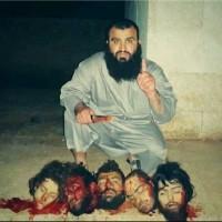 جدال گروه آدمخوارداعش نماینده عربستان با ولی فقیه جنایتکار ضد انسان