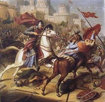 نمونه دیگری از جنگهای میان مسلمانان و مسیحیان که جهانی را به آتش و خون کشانید.