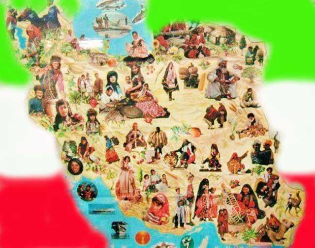 (واژه ایران اگرچه امروز به این گوشه از جهان گفته می شود ولی همزبانان تاجیک و افغان و همریشگان کُرد و بلوچ خارج از این مرزها از مردم ایران وسیله سیم خار دار و بزور سیاست جدا شده اند. به امید برچیده شدن مرزها و پیوستگی مجدد اقوام همسایه)