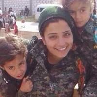 دلاور زن کوبانی که با نثار جان خود ده آدمخوار داعشی را به هلاکت رساند