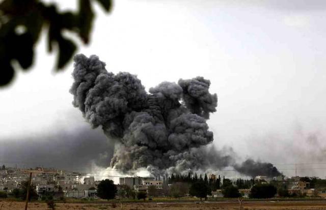 این یک انفجار در شهر کوبان است که به دنبال آن صدها نفر کشته، و ساختمانها ویران می شود.