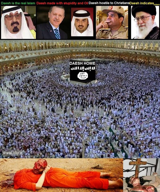 با داعش های زمان که مانند بختک و طاعون بر روی کشورهای خاورمیانه افتاده و ازخون مردم می مکند آشنا شوید.