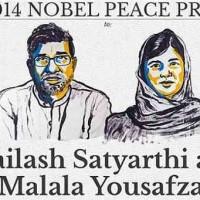 ملاله ۱۷ ساله، قهرمان راه آزادی و آموزش زنان و دختران، برنده جایزه نوبل شد
